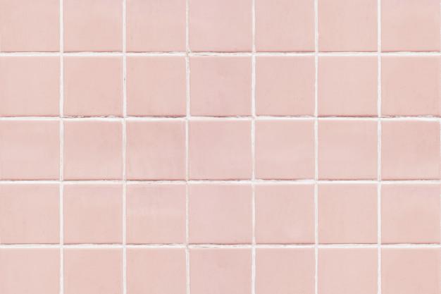 lyserøde fliser